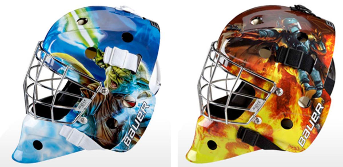 bauer star wars goalie masks