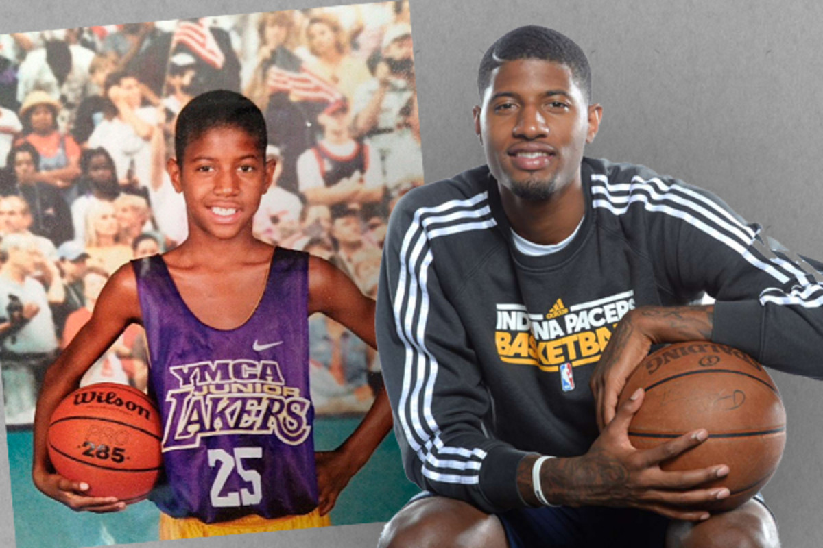 paul george indiana pacers when i was a kid