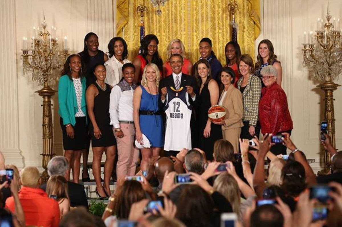 indiana fever white house
