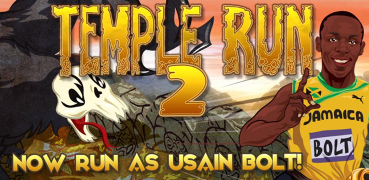 usain bolt temple run 2