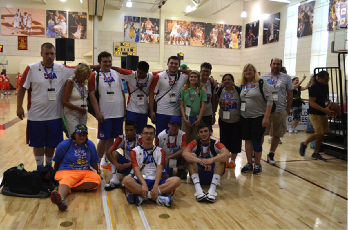 special olympics world games 2015 us basketball