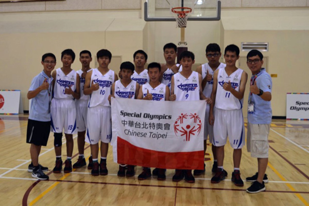 special olympics world games 2015 chinese tapei basketball