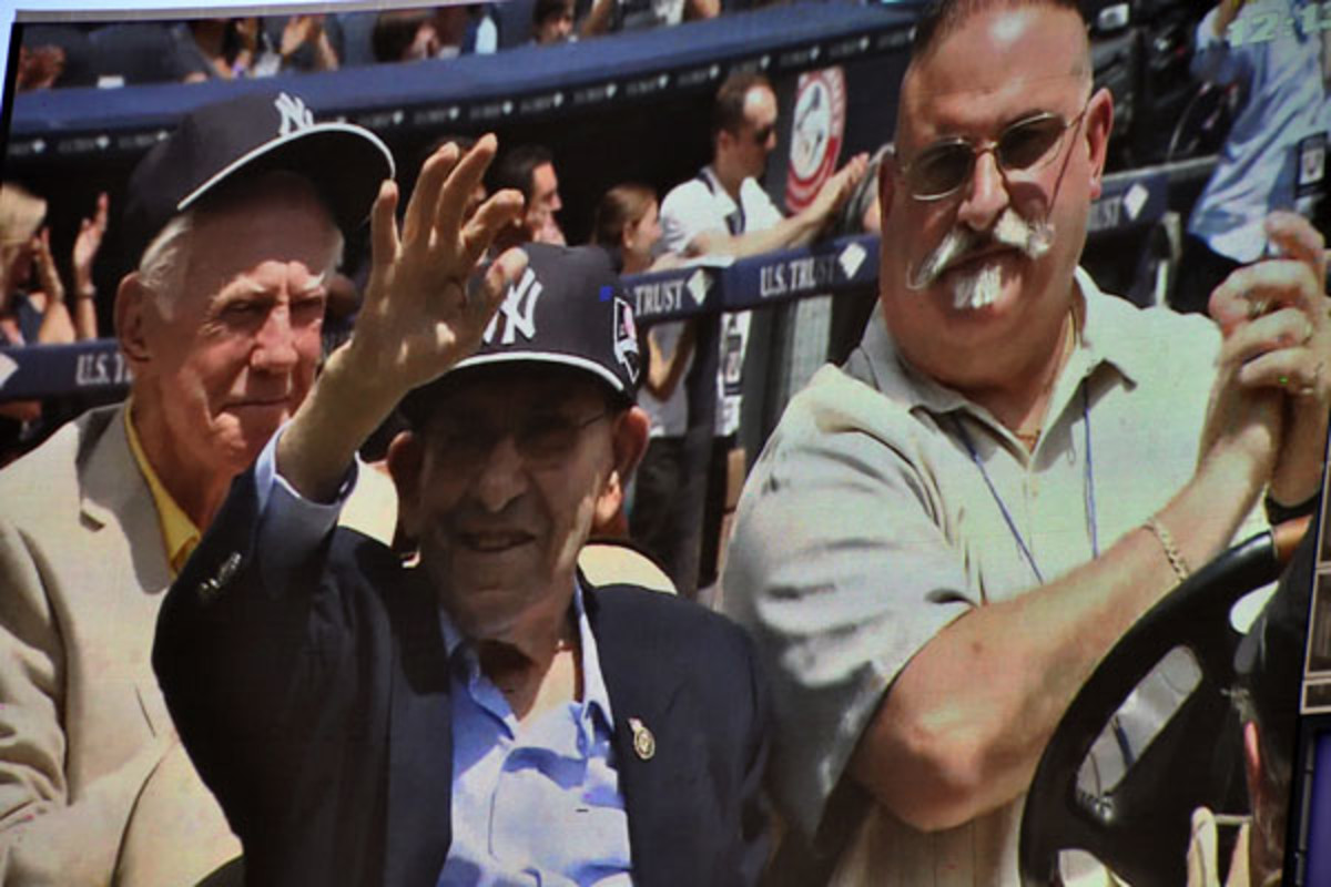 yankees old-timers day 2014