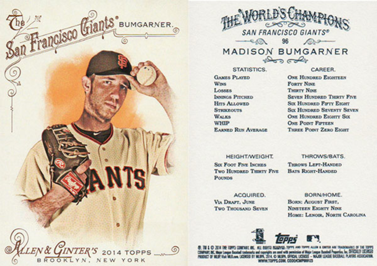 SI Kids topps allen and ginter