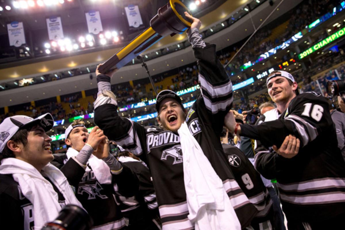 providence friars 2015 ncaa men's hockey champions