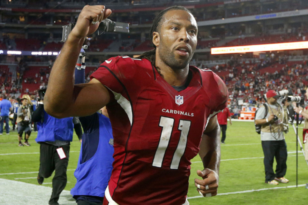 fantasy football 2015 week 14 playoff facts larry fitzgerald