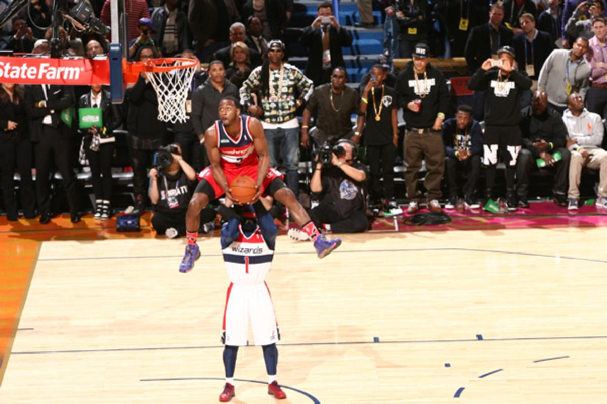 john wall slam dunk contest 2014