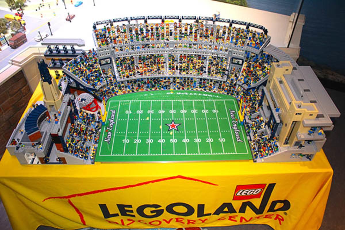 gillette stadium new england patriots lego