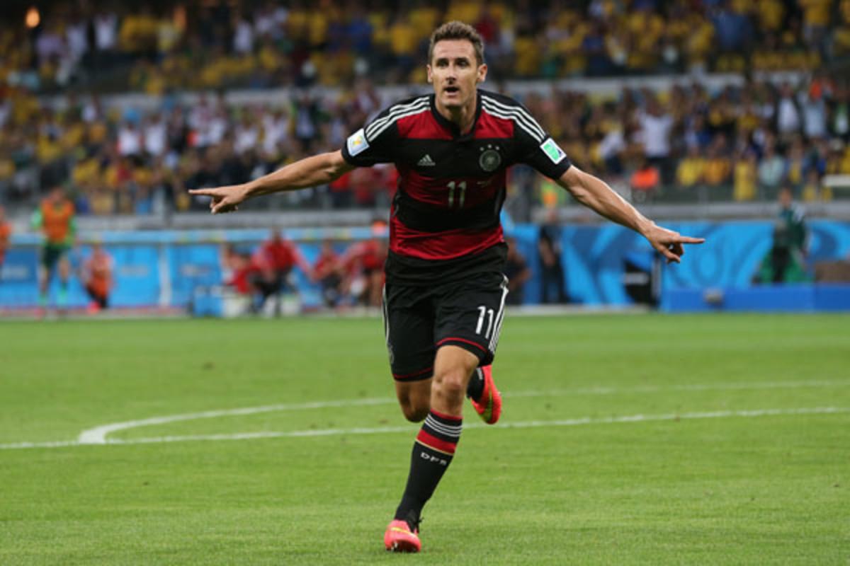 miroslav klose germany brazil world cup 2014