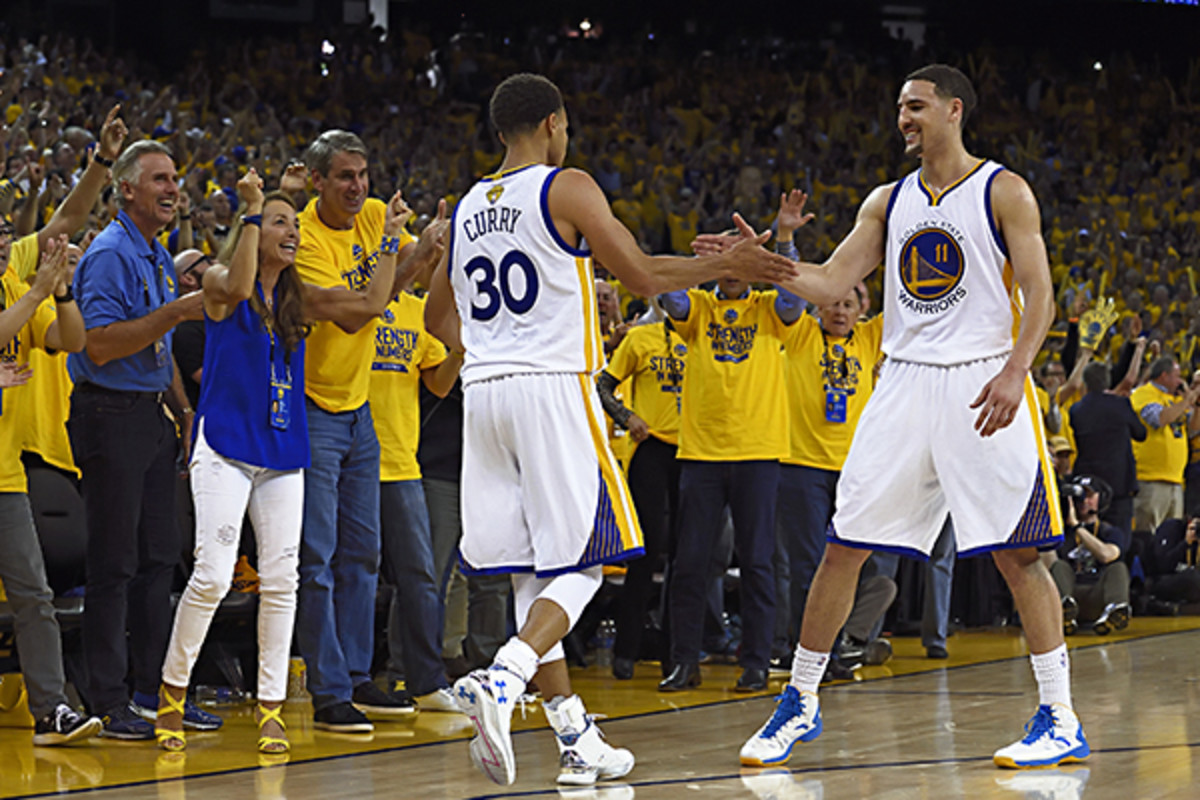 golden state warriors splash brothers steph curry klay thompson