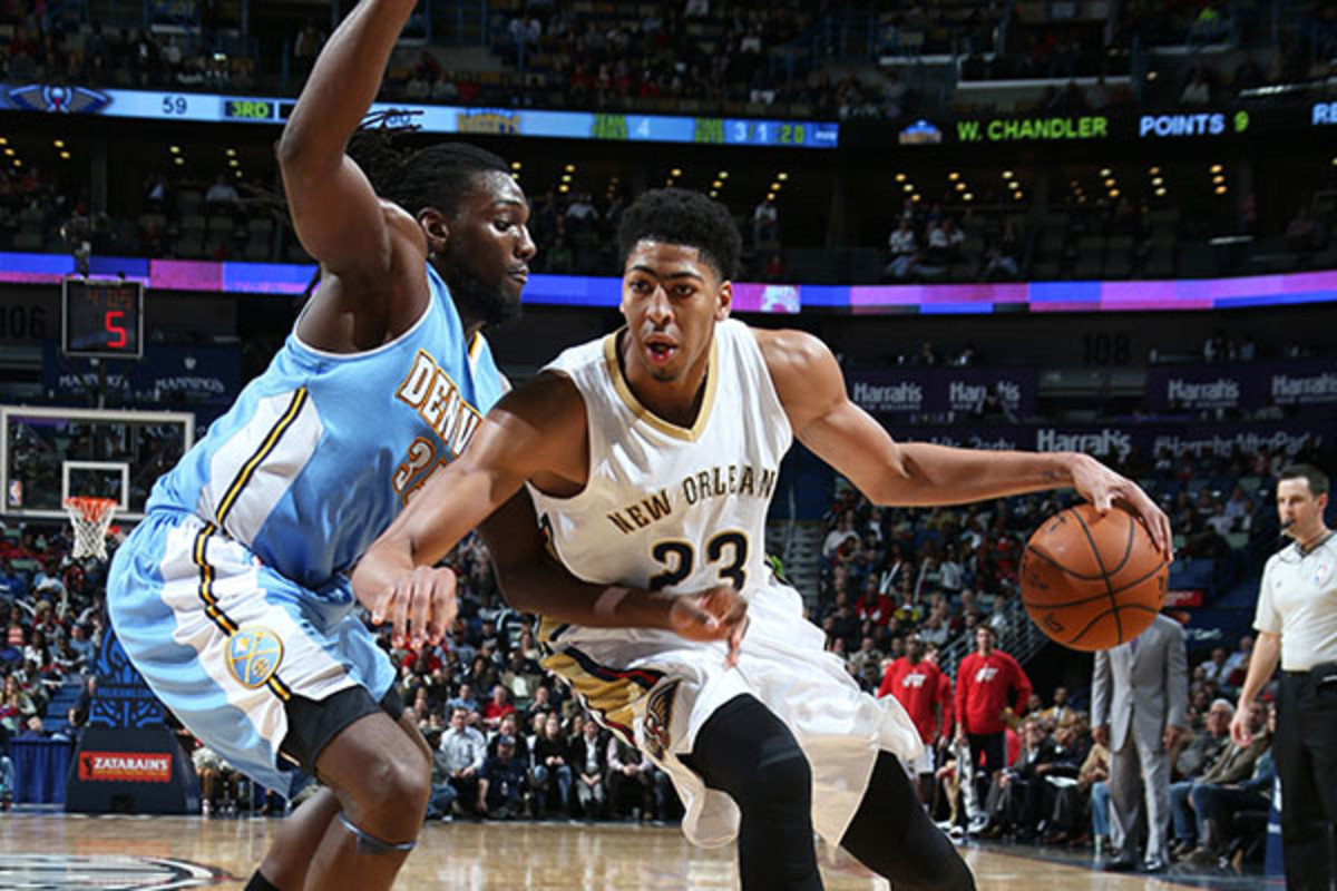 SI Kids anthony davis new orleans pelicans all-star game