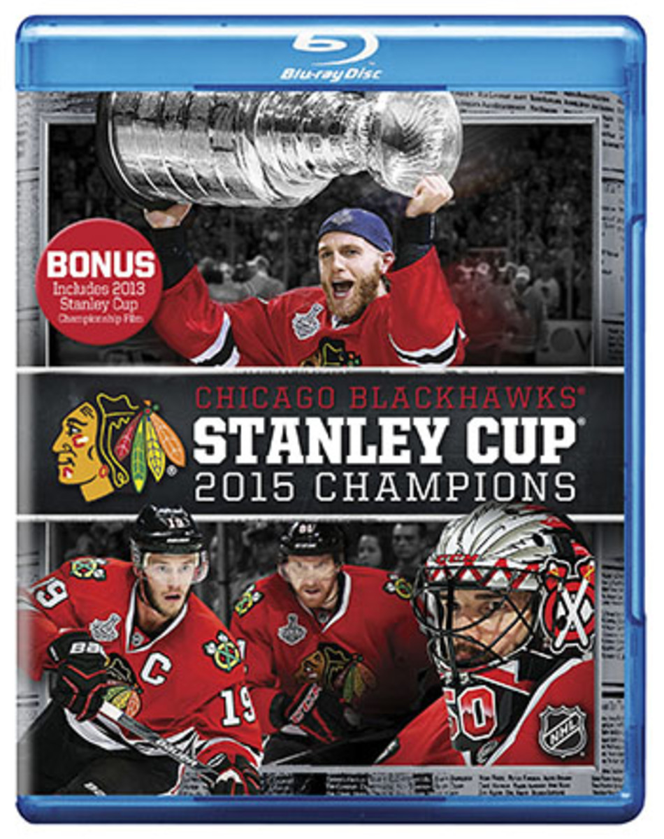 chicago blackhawks stanley cup dvd