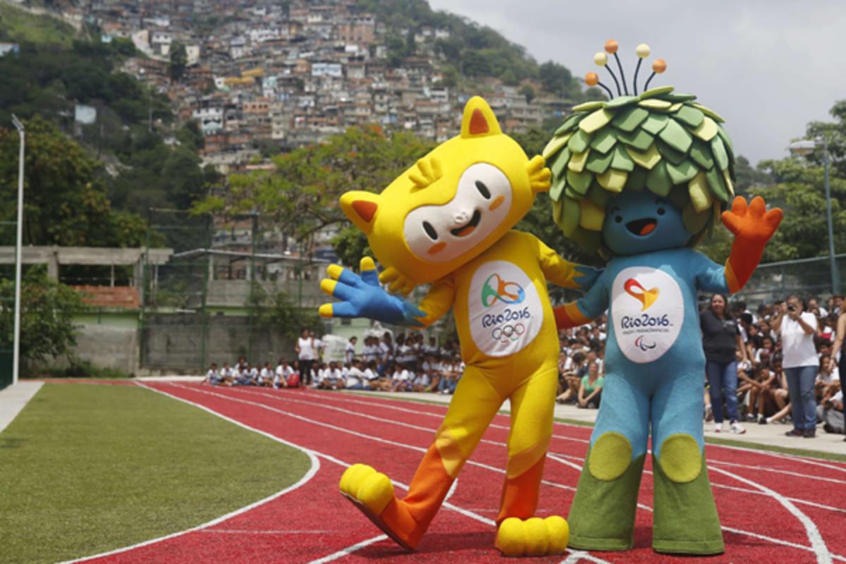 rio 2016 summer olympics mascots