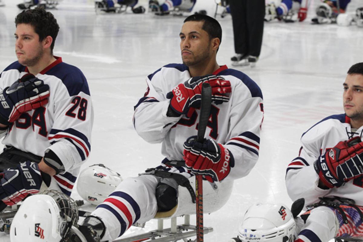 2014 winter olympics rico roman sled hockey paralympics
