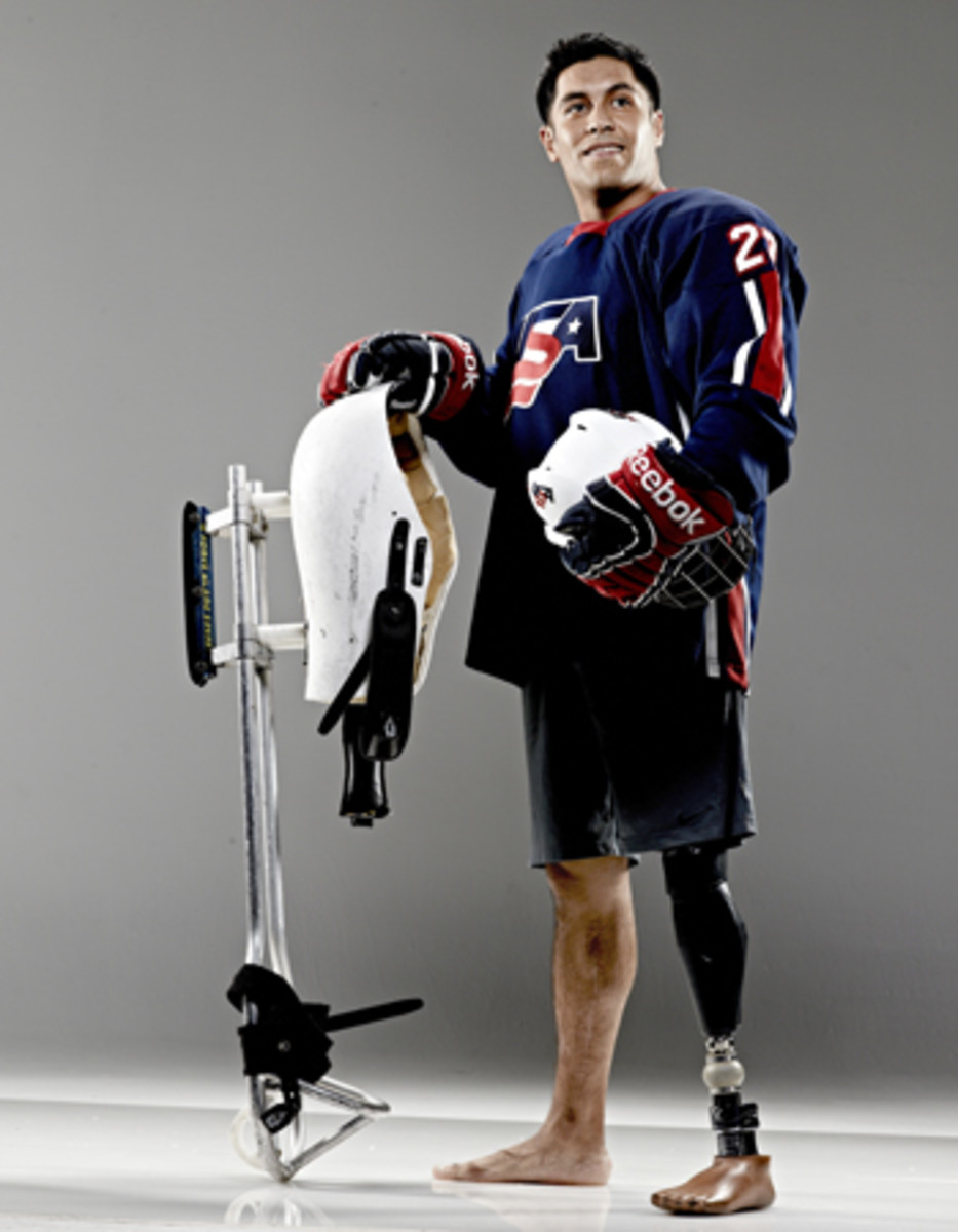 2014 winter olympics rico roman paralympics sled hockey