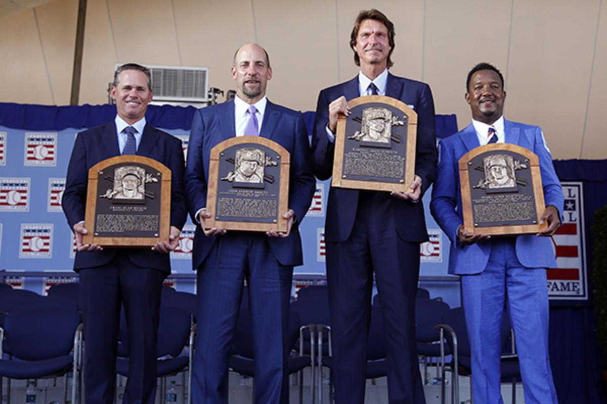 baseball hall of fame induction 2015