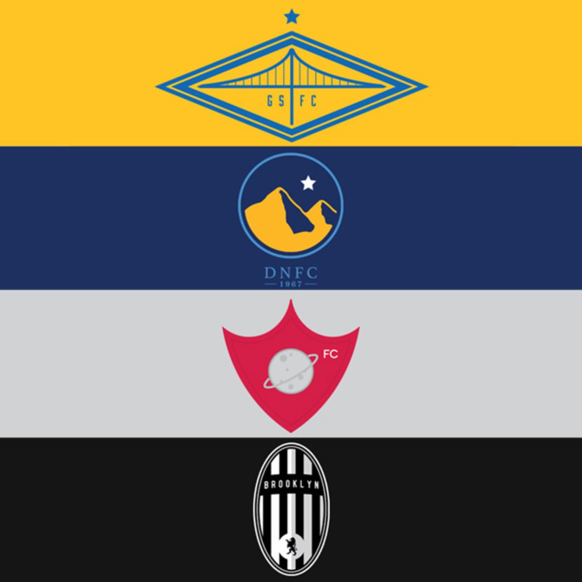 nba futbol club logos golden state warriors denver nuggets houston rockets brooklyn nets