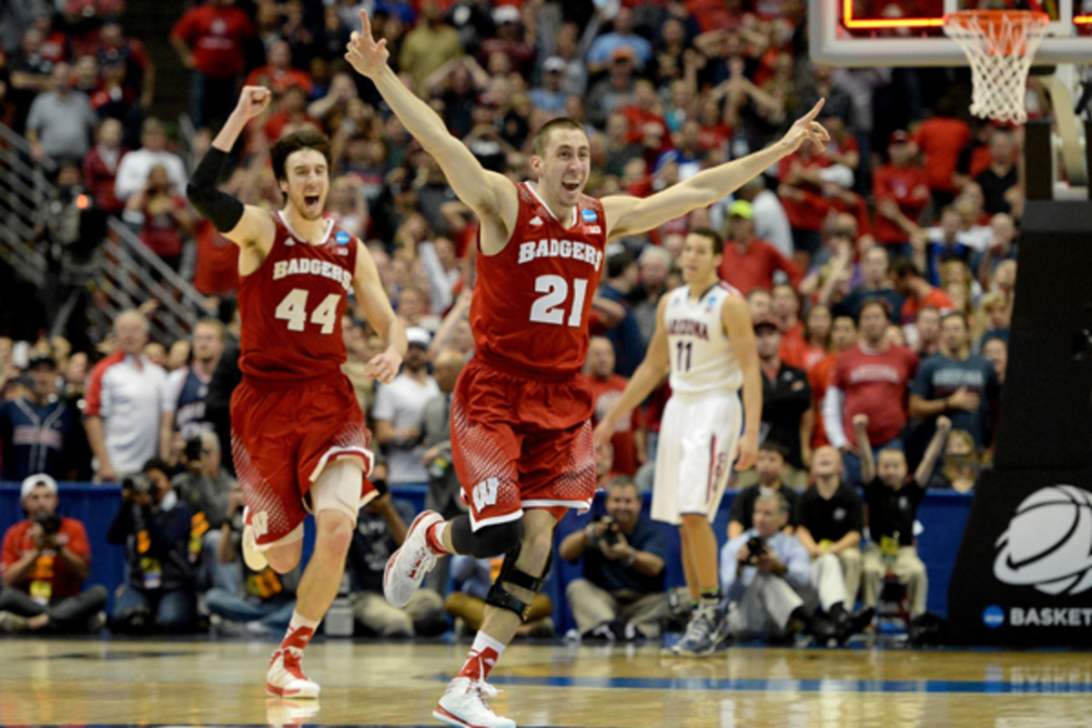 march madness storylines wisconsin arizona