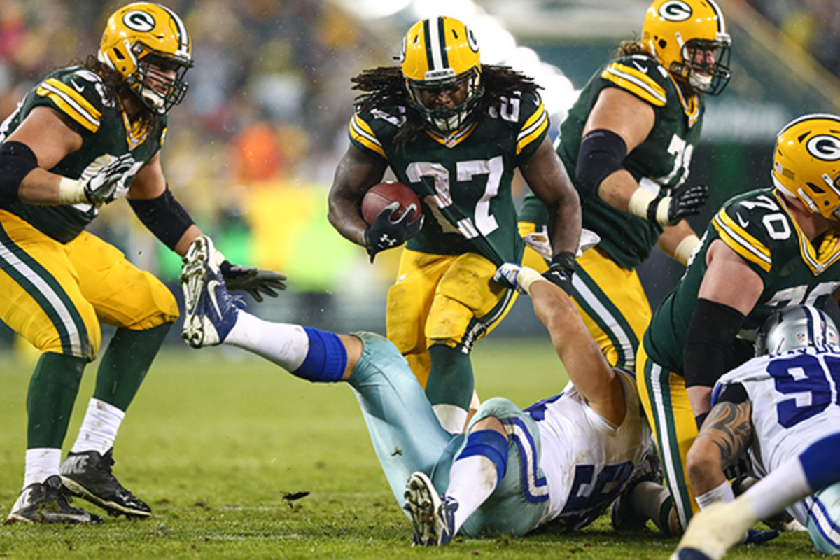 fantasy football 2015 week 15 risers sliders eddie lacy