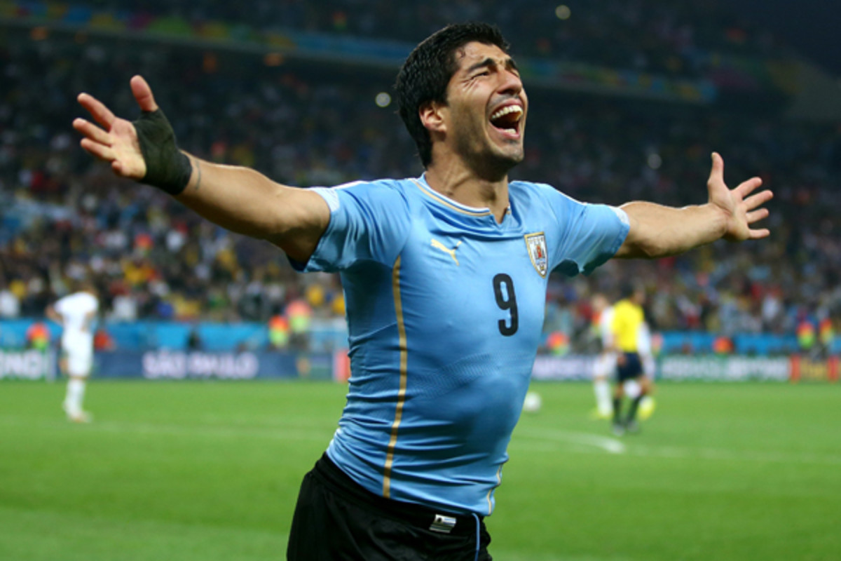 2014 world cup urugay luis suarez
