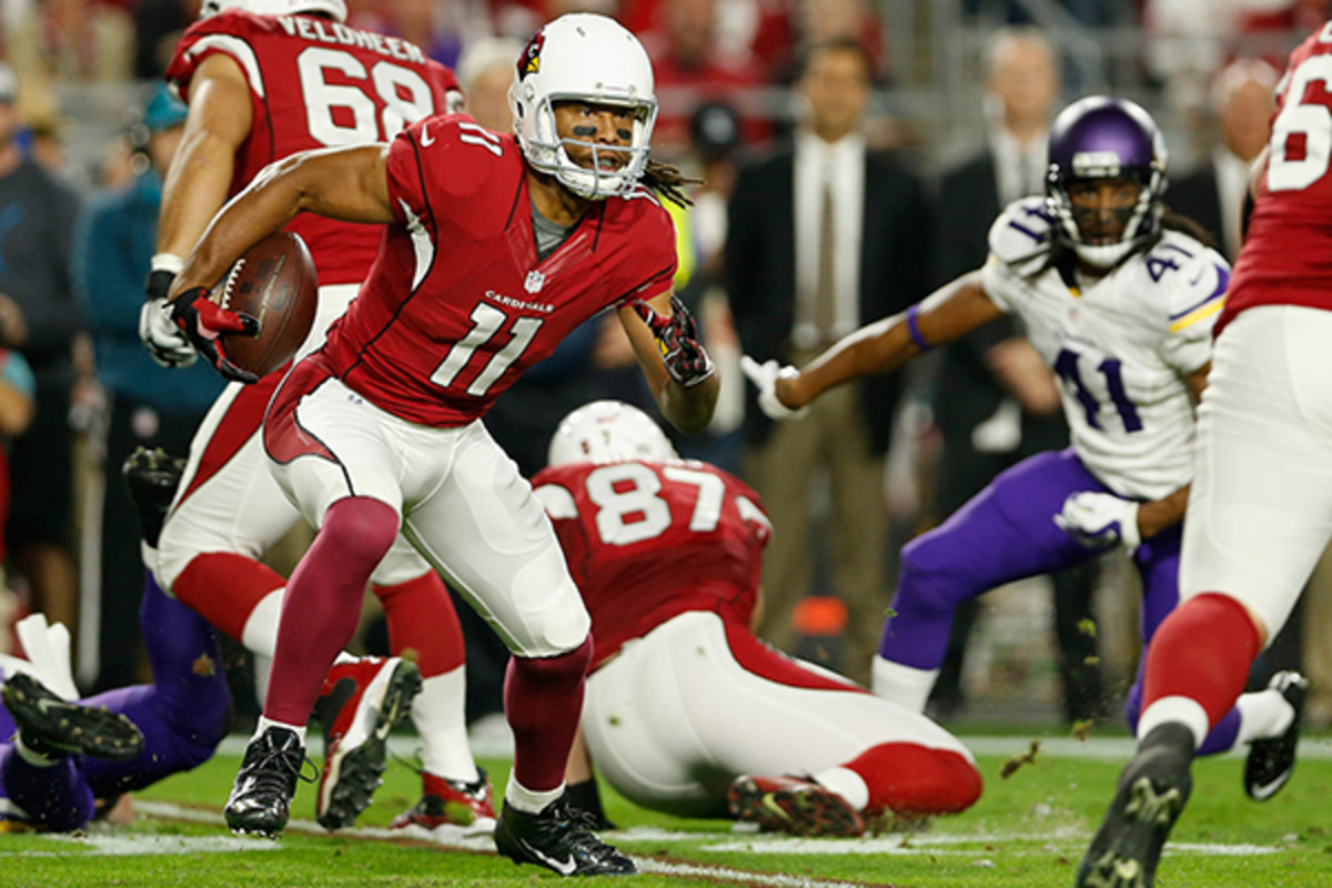 fantasy football 2015 week 15 risers sliders larry fitzgerald