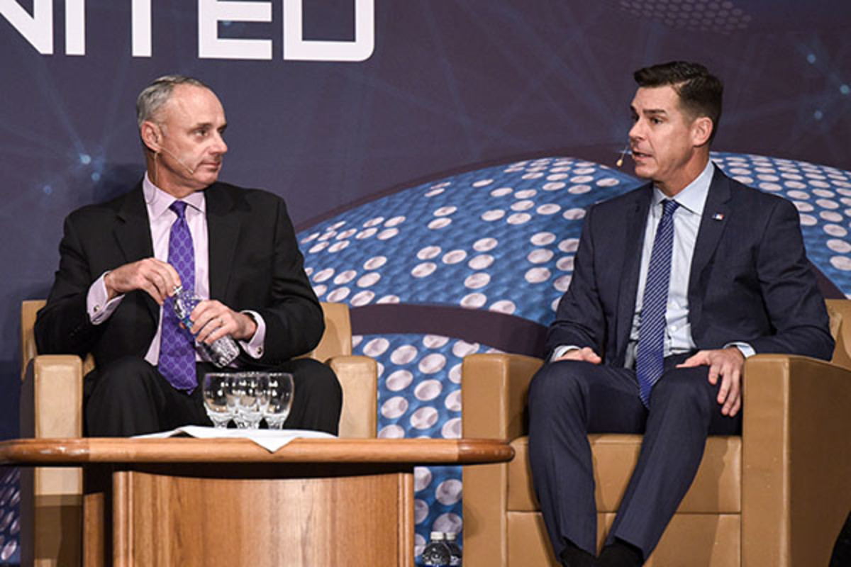 beyond sport conference rob manfred billy bean