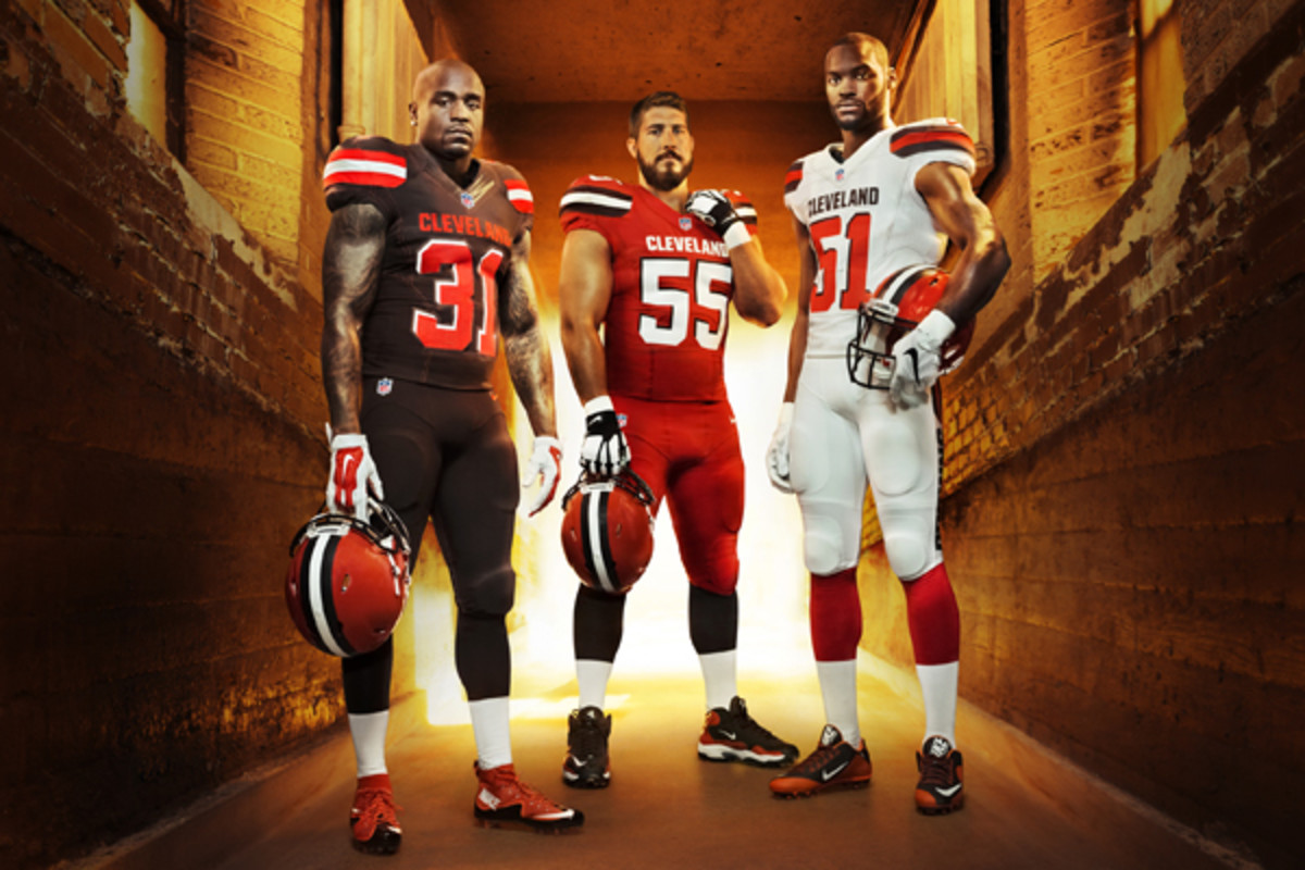 cleveland browns new uniforms