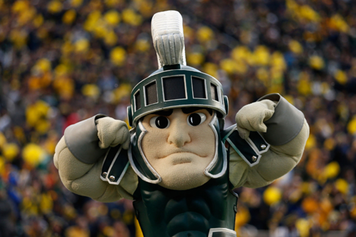 michigan state spartans michigan wolverines great ending