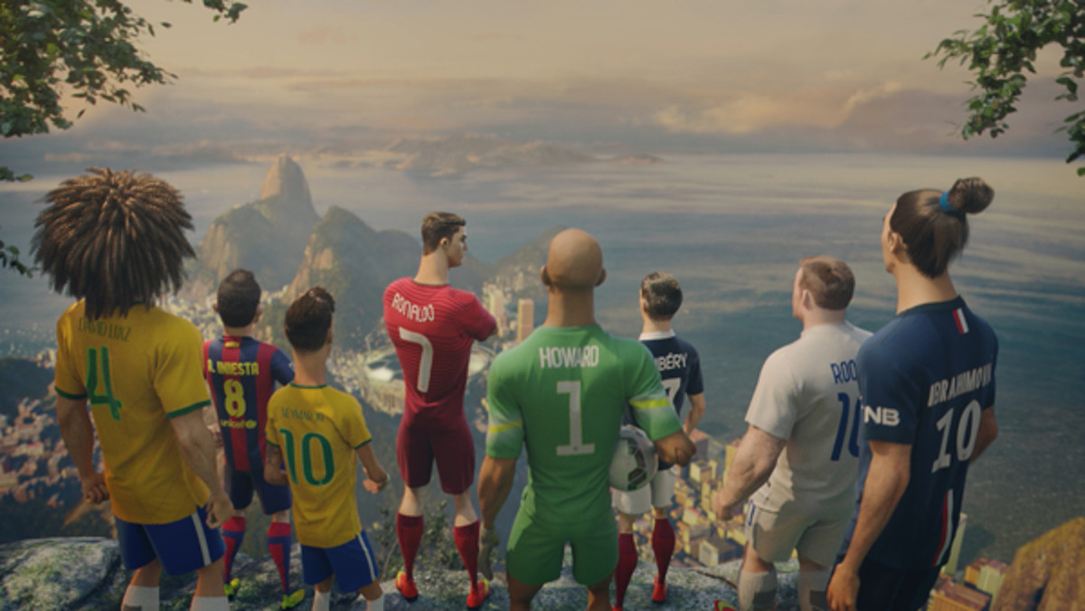 nike football the last game 2014 world cup