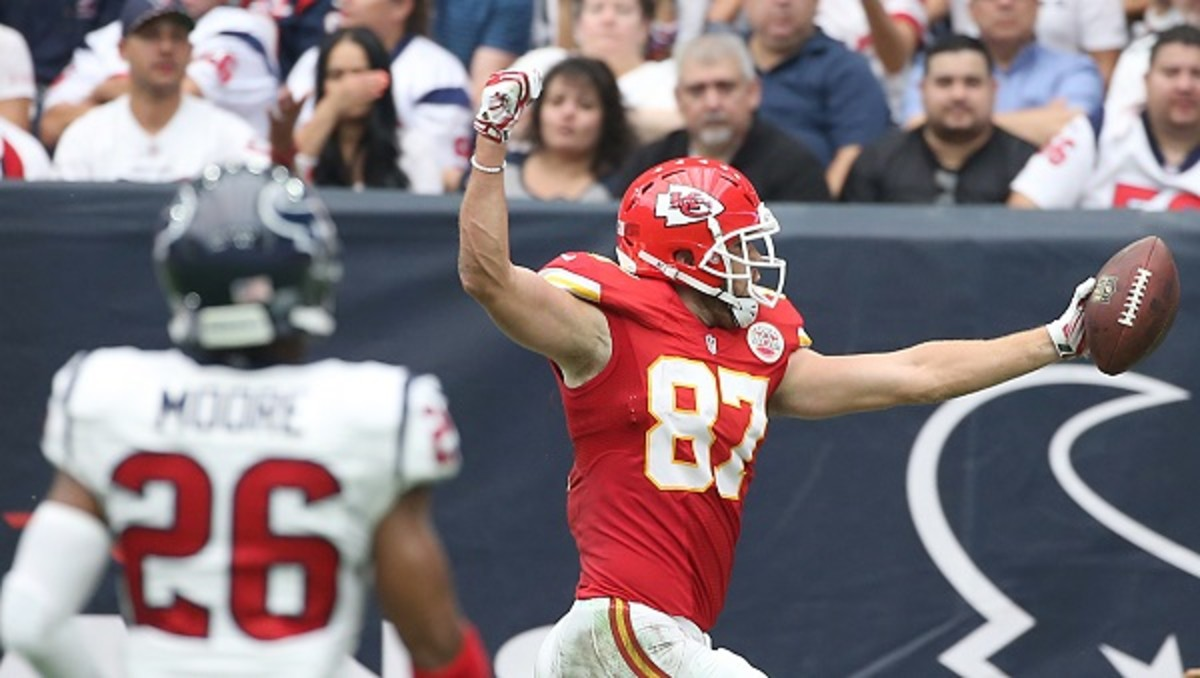 fantasy football 2015 week 1 superlatives kelce