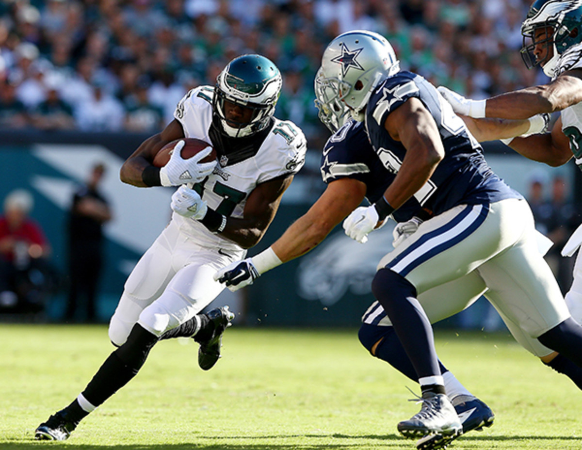 fantasy football 2015 week 5 waivers nelson agholor