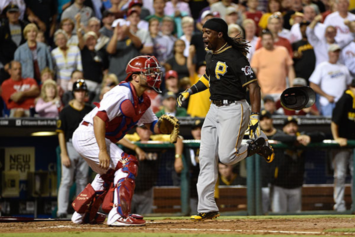 andrew mccutchen pittsburgh pirates inside the park homerun