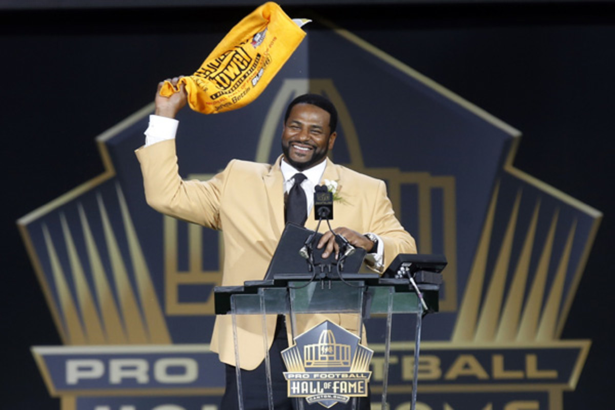 nfl hall of fame 2015 jerome bettis pittsburgh steelers