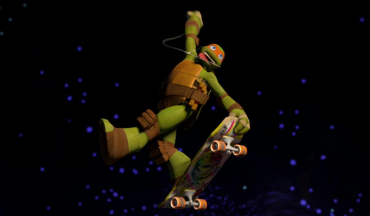 teenage mutant ninja turtles skateboarding