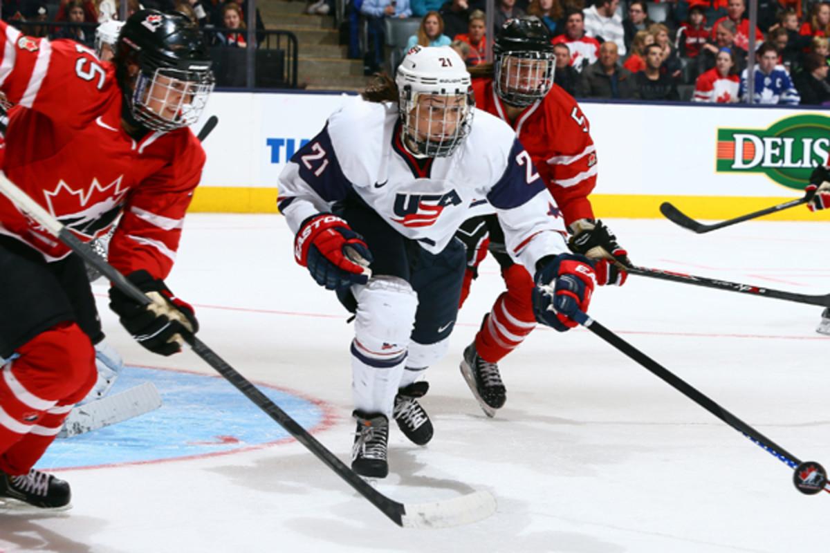 hilary knight us women's hockey 2014 sochi winter olympics
