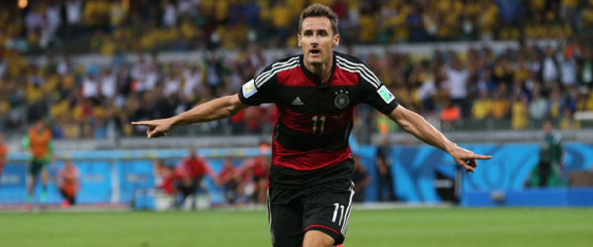 world cup 2014 germany brazil miroslav klose