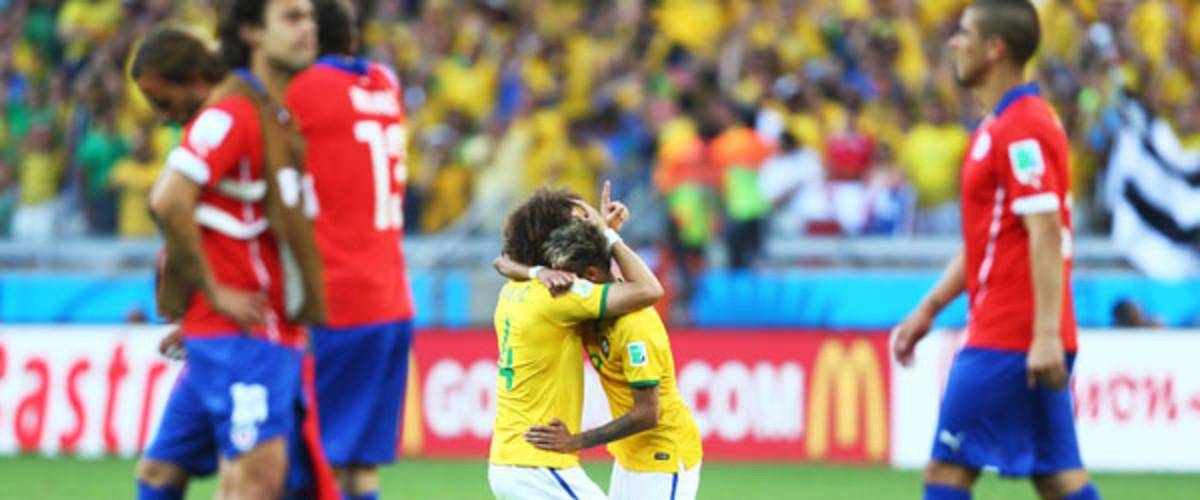2014 world cup brazil chile knockout
