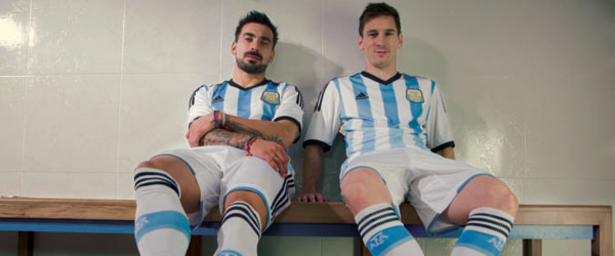 SI Kids world cup 2014 guide messi adidas jersey