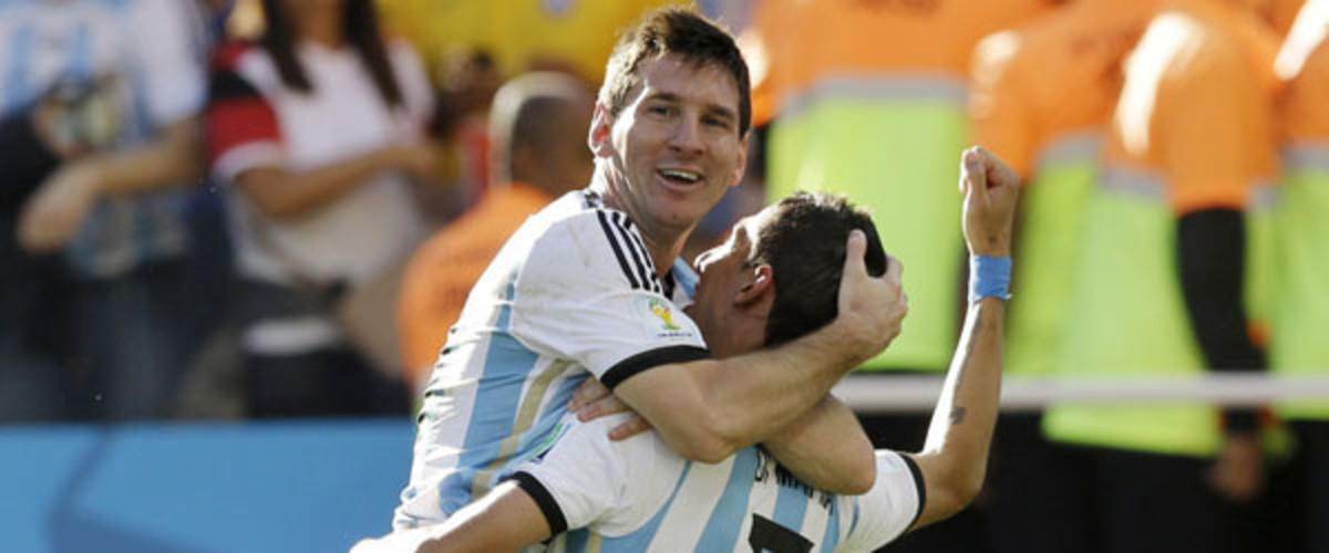 world cup 2014 quarterfinals messi