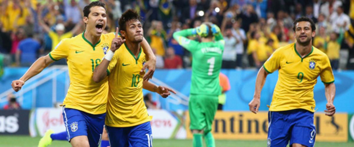 2014 world cup neymar brazil
