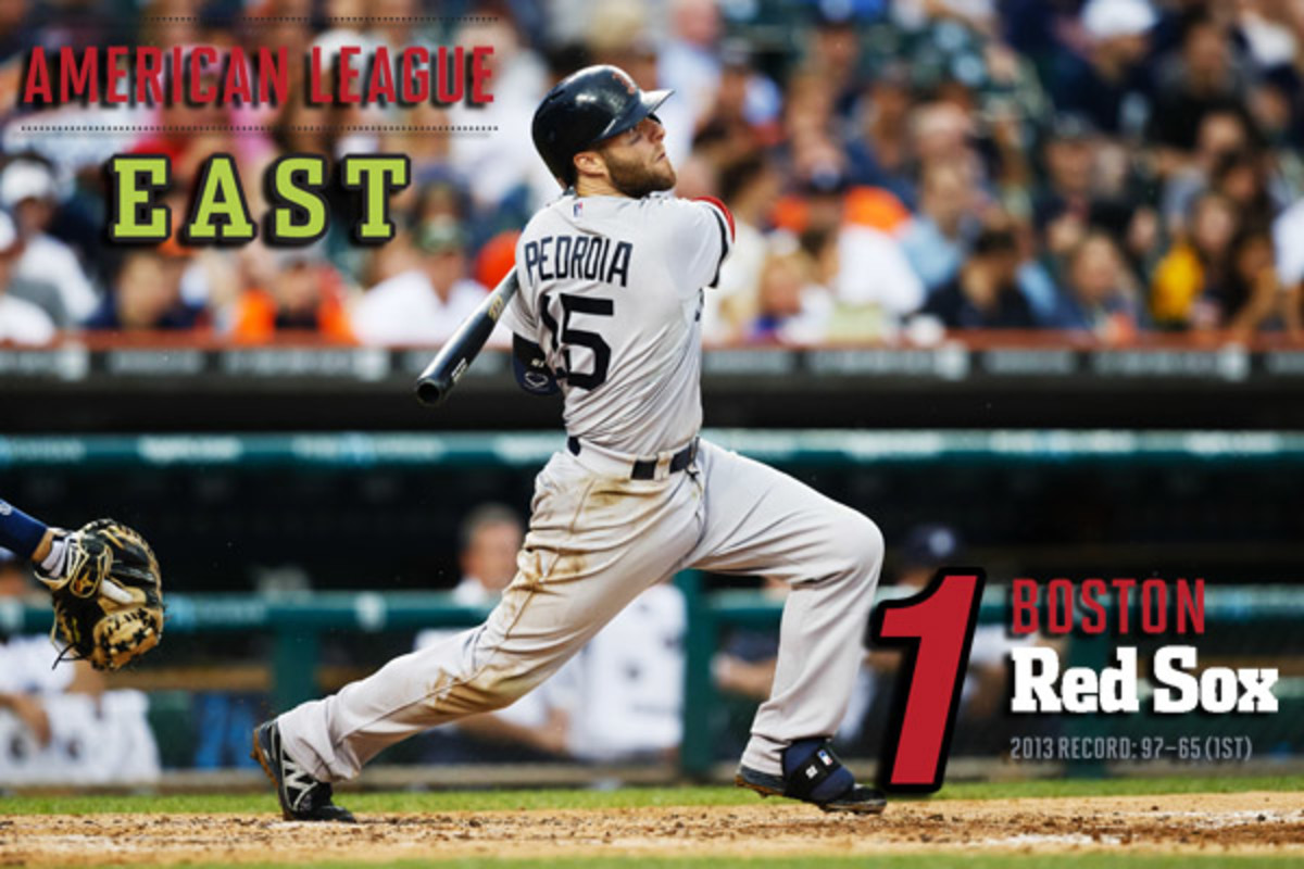 2014 mlb preview AL east boston red sox