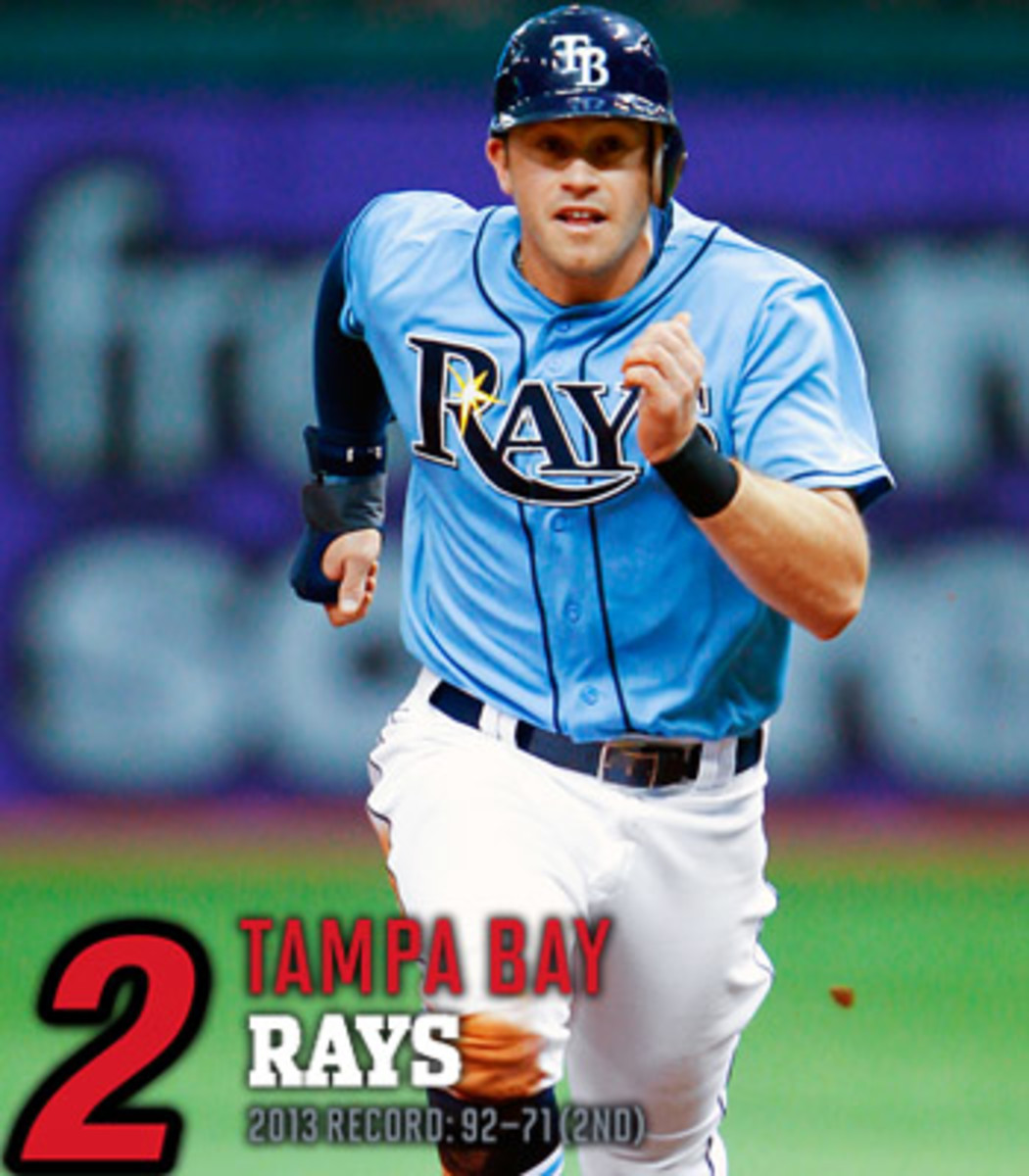 2014 mlb preview AL east tampa bay rays
