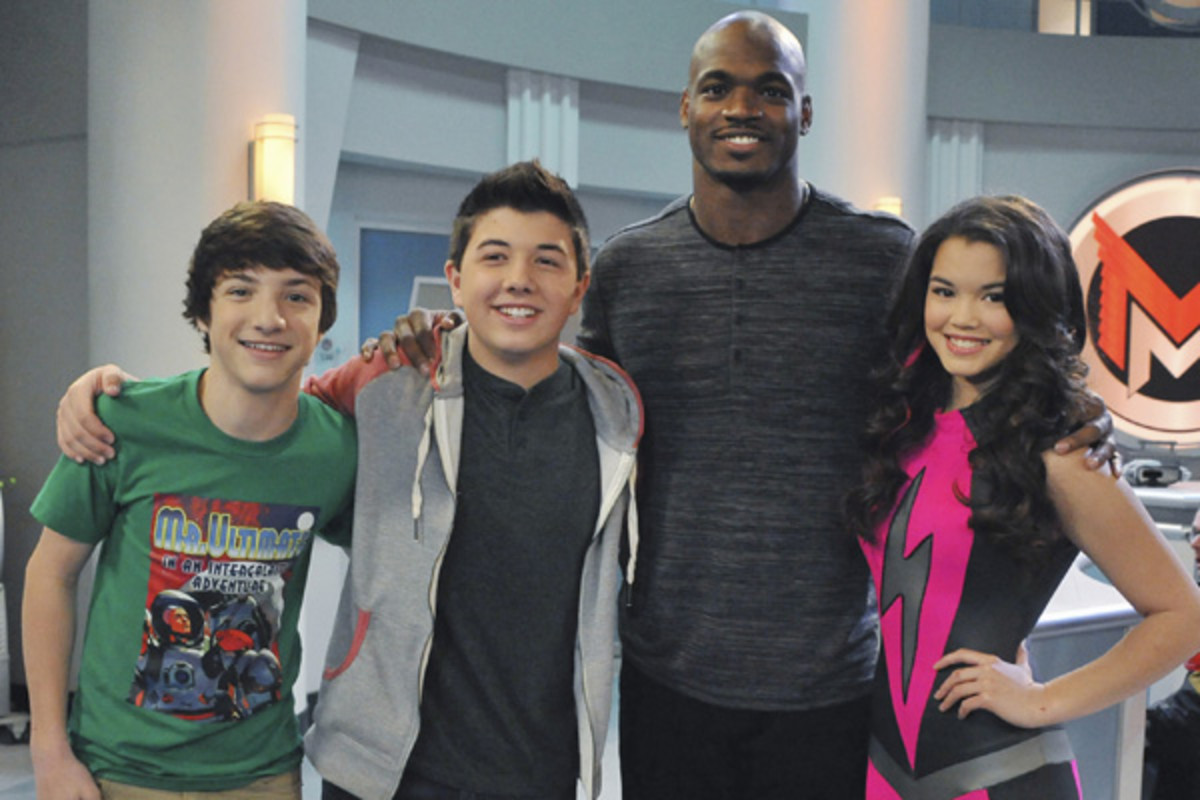 adrian peterson mighty med disney xd
