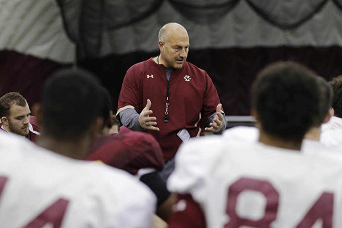 Steve Addazio boston college football