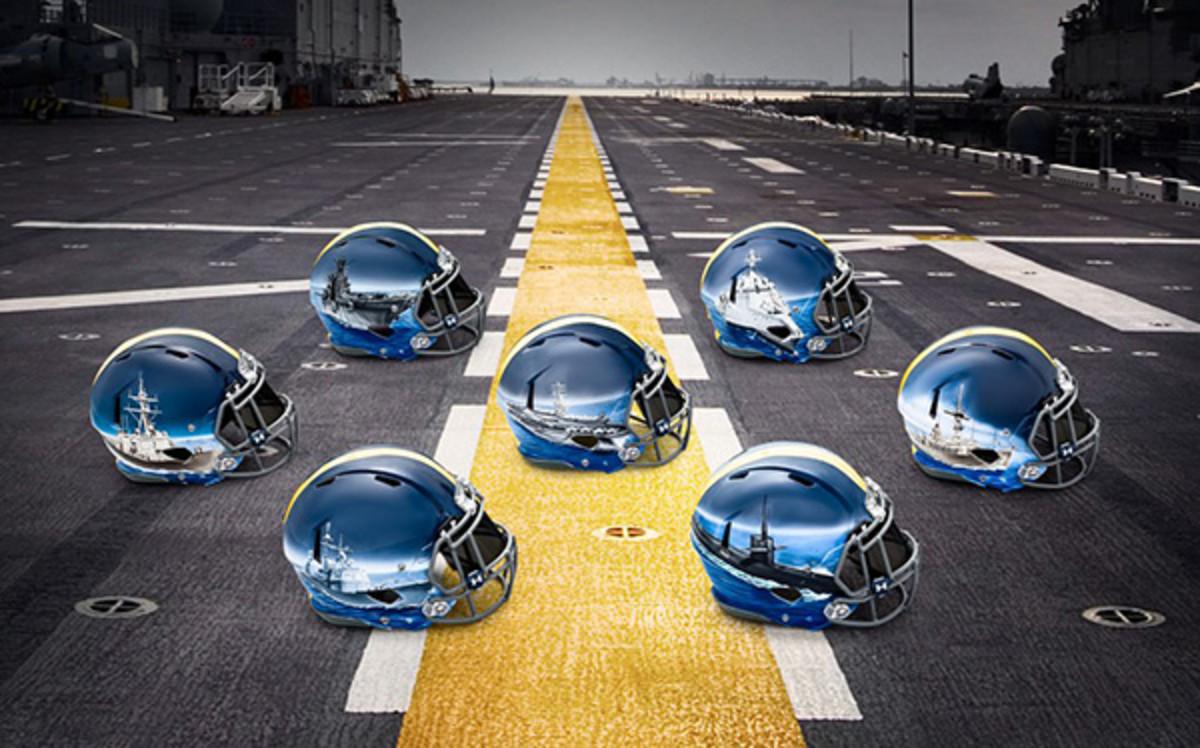 navy midshipmen fleet helmets