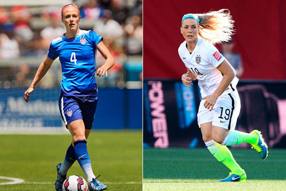uswnt world cup becky sauerbrunn julie johnston