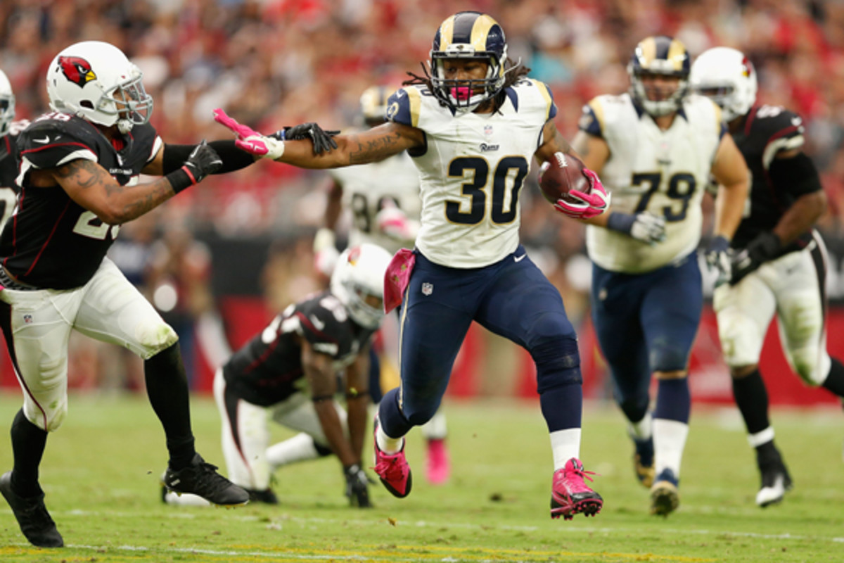 fantasy football 2015 week 4 superlatives todd gurley
