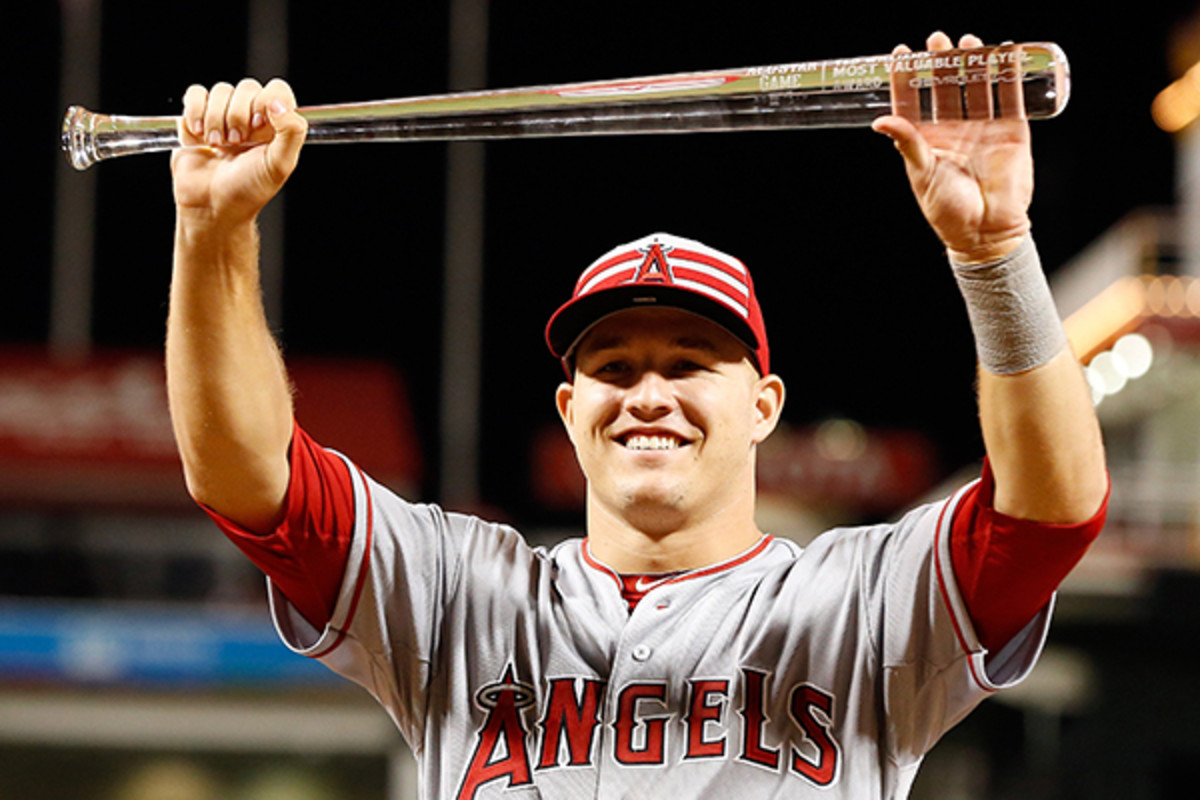 2015 all-star game mike trout