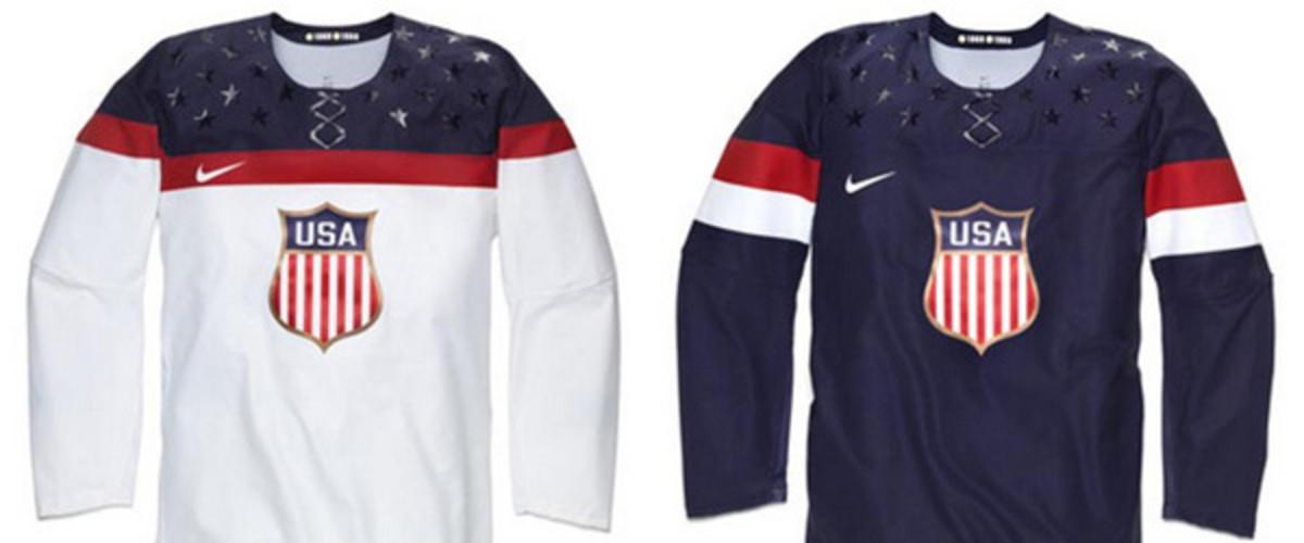 2014 sochi winter olympics team usa hockey jerseys nike