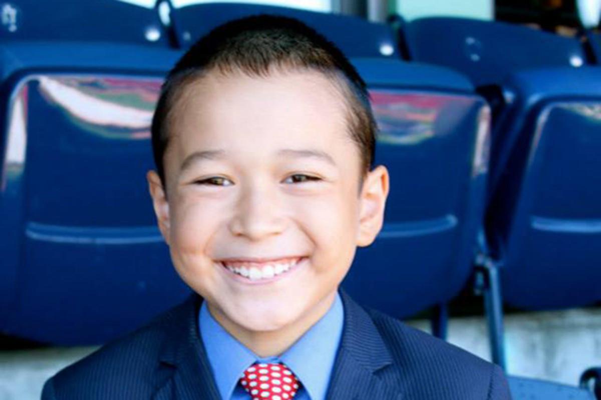 kid reporter Maxwell Surprenant